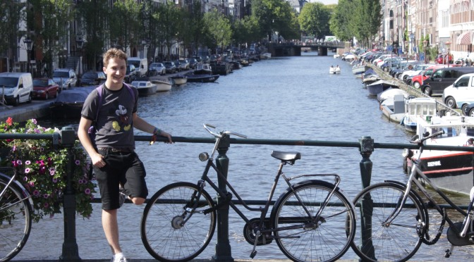 Canals, Herbs, Poems, and Bikes. 2nd – 4th September Amsterdam